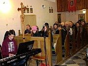 Benefiční adventní koncert v kostele Narození Panny Marie v Brníčku.