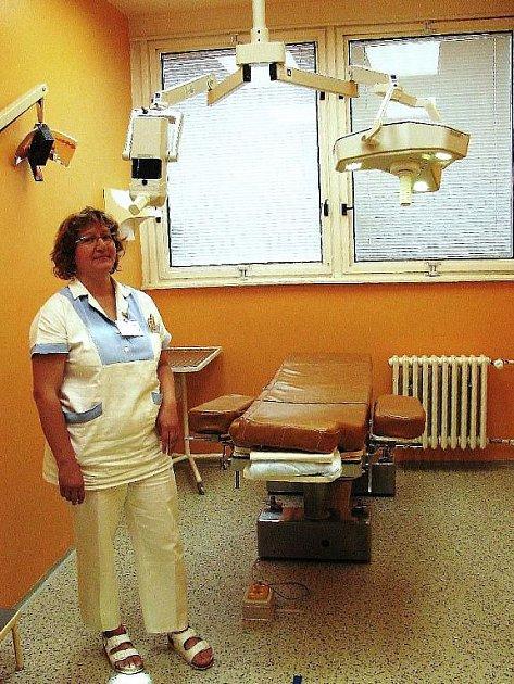 Nová operační lampa bude sloužit především pro kosmetické operace v oblasti očí