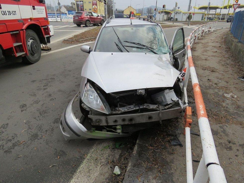 Nehoda v Šumperku