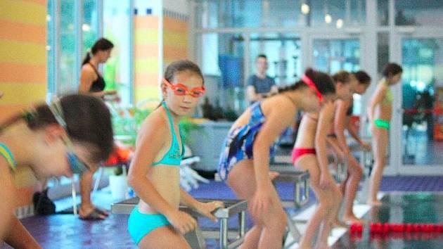 Plavecká soutěž měst v Zábřehu