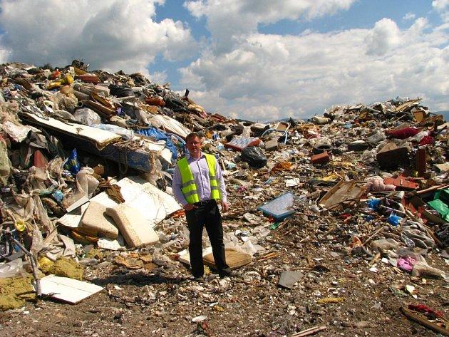 Na rapotínské skládce končí každý rok kolem 80 tisíc tun odpadu.