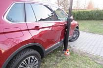 Nehoda v Šumperku 22. března 2019.