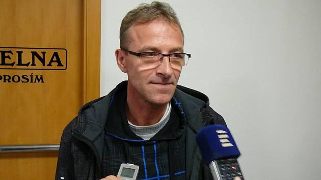 Adam Stanislav Kuszaj u soudu v Jeseníku.