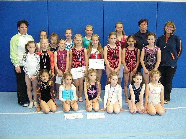 Šumperské sportovní gymnastky