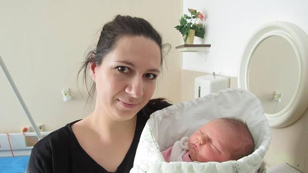 První novorozené miminko roku 2020 na Jesenicku.