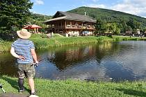 Loučná nad Desnou - rybník Kocián.