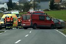 Dopravní nehoda u Dubicka v sobotu 20. prosince