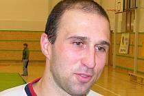 Martin Málko z týmu 1. FC Delta Real Šumperk.