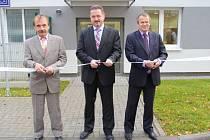 Mohelnický závod koncernu Siemens, který je největším výrobcem asynchronních elektromotorů v Evropě, otevřel zrekonstruovanou budovu personálního oddělení.