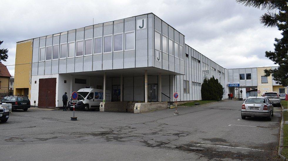 Nemocnice Šumperk. Pavilon J