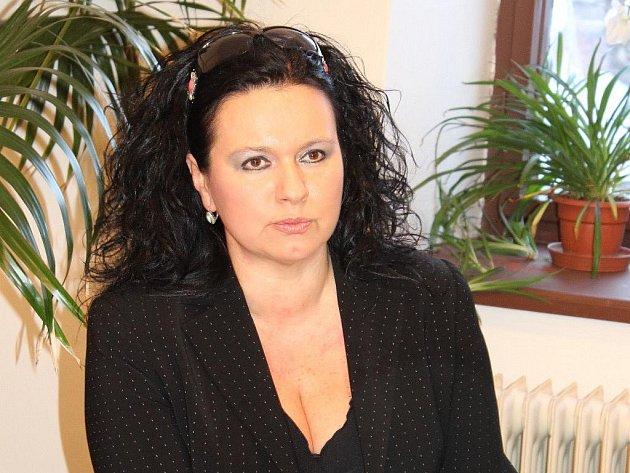 Ředitelka Vlastivědného muzea Jeseník Veronika Rybová
