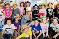 Velikonoční kloboukový den na základní škole Školská v Zábřehu