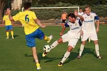 Šumperk (žluté dresy) proti Petrovicím