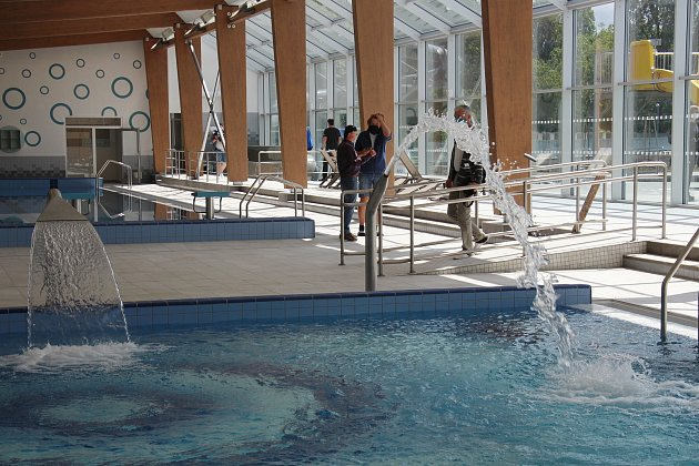 Nově zrekonstruovaný bazén vŠumperku - 27.5.2020