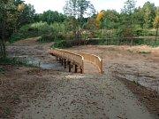 Výstavba nové rekreační a zároveň užitečné zóna vznikla v lokalitě Pod Tulinkou u Rapotína - říjen 2018