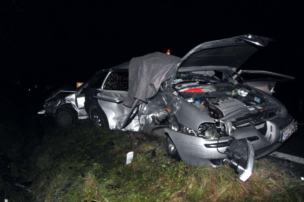Smrtelná nehoda mezi Šumperkem a Bludovem.