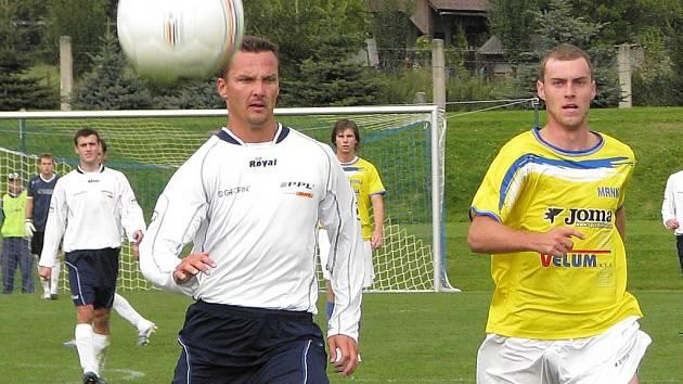 Mezi trpící se zařadí jistě i losinský útočník Petr Soukup (vpravo).
