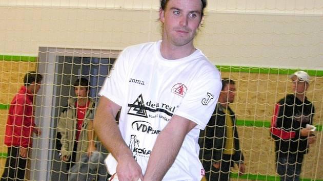 Martin Gruntorád  v dresu futsalové Delty Real