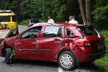 Dva cestující vyvázli z nehody 16. června bez zranění