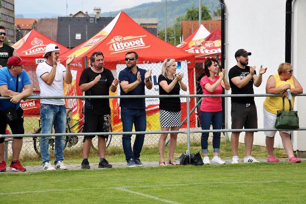 Ondrášovka Cup v Šumperku ovládli fotbalisté Slavie, domácí celek skončil devátý.