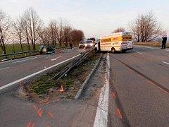 Nebezpečná křižovatka u Mohelnice je častým místem dopravních nehod