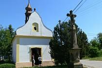 Kaple Svaté Trojice v moravičanské osadě Doubravice