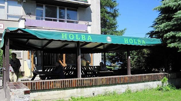 Družstevní restaurace v Bludově