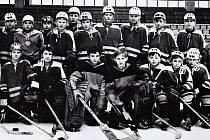 O štít únorového vítězství. První ročník turnaje mladších žáků v ledním hokeji 3.-5. března 1972, tým Opava