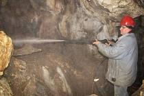Jeskyně zažila poslední úpravu v roce 1955.