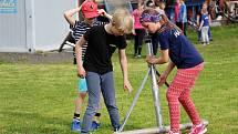 Trénink mladých hasičů Temenice, 12. května 2021