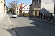Vančurova ulice v Šumperku