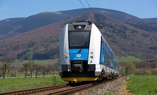 Elektrizace trati ze Šumperku do Koutů nad Desnou - jízda prvního vlaku