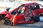 Vážná nehoda u Zábřehu, 15. února 2021