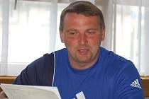 Trenér Šumperku Petr Strnad