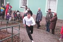 V Zábřehu se konal běh zámeckou bránou, který je součástí festivalu Welzlování.
