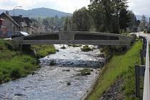 Rejvízský most přes řeku Bělou v Jeseníku.
