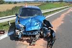 Nehoda u Zábřehu 19. 8. 2019.