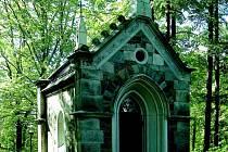 Hrobka Vincenze Priessnitze v jesenických lázních.