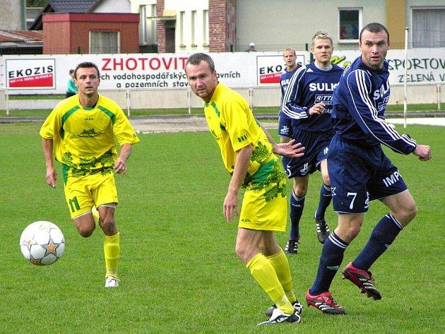 Lubomír Pinkava (vpravo) byl nominován na sportovce Zábřehu.