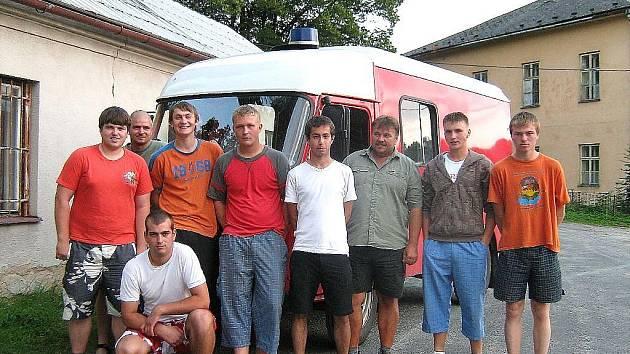 Dobrovolní hasiči z Širokého Brodu