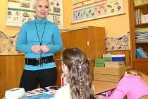 Učitelku Marii Zámečníkovou nominovali do ankety Zlatý Ámos její žáci z Moravičan