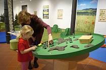 Interaktivní výstava v Šumperku - Herna plná přírody