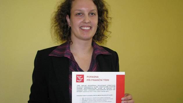 Lenka Libišová - Svobodová z Poradny při finanční tísni