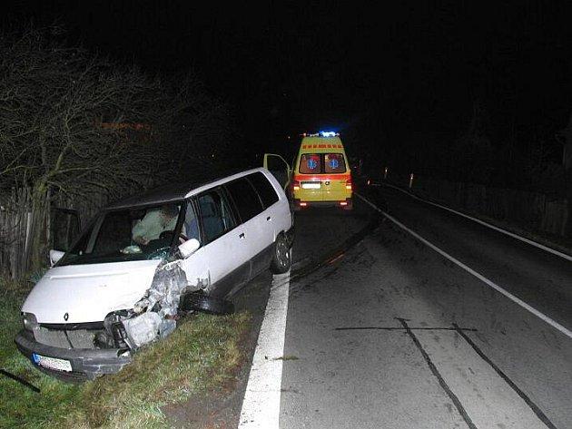 Snímky z nedělní nehody v Rapotíně