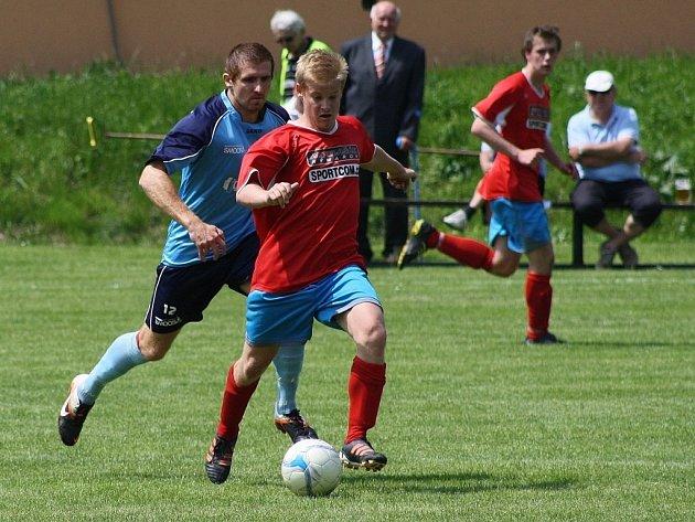 Ústí versus Oskava (červené dresy).