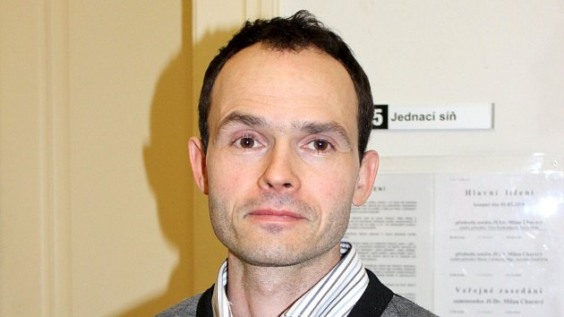 Marek Rybář u šumperského soudu