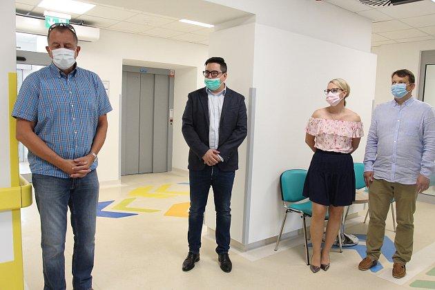 Nový ošetřovatelský pavilon Nemocnice Šumperk.