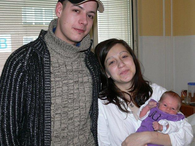 Váhu a míru má první letošní novorozenec přímo ukázkové: 3400 gramů a 50 centimetrů.