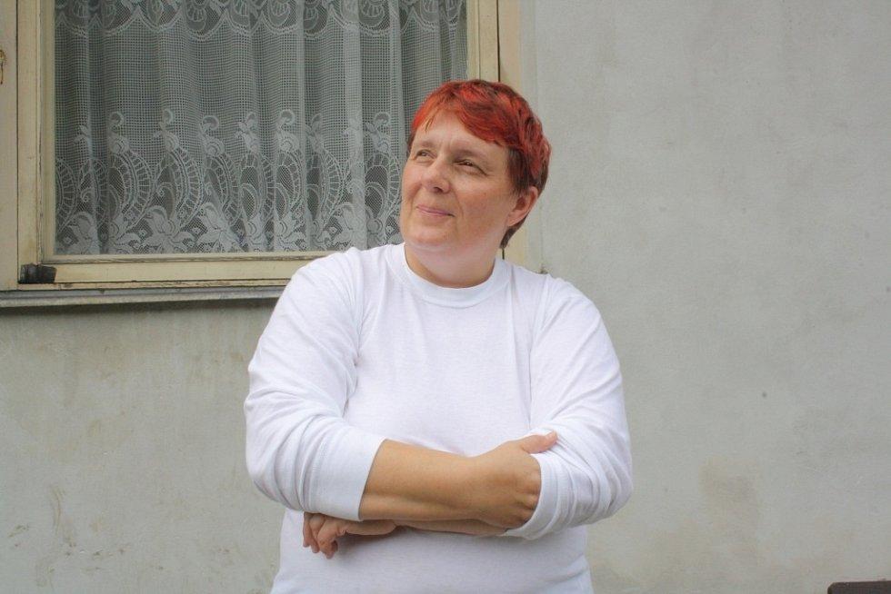 Hlavní vedoucí tábora spolku Duha Křišťál Lutín Lenka Pospíšilová.