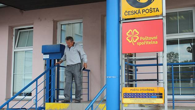 Pošta u nádraží v Šumperku